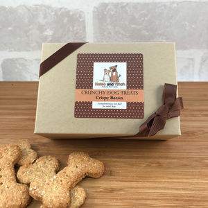 Natural Dog Treat Gift Box - dogs