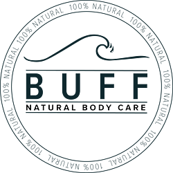 BUFF Natural Body Care Wave Logo