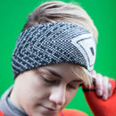 Lambswool Headband In Reeo Design