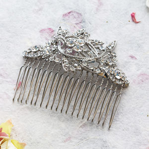 Candide Crystal Hair Comb