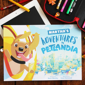 Personalised Story Book Starring Your Dog - pet-lover