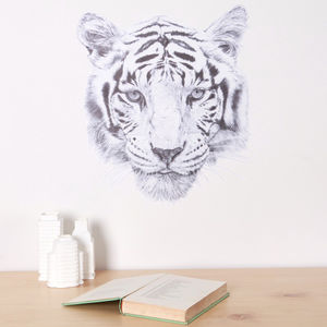 Tiger Fabric Wall Decal