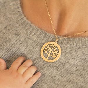 Personalised 'Tree Of Life' Necklace - top unique gifts