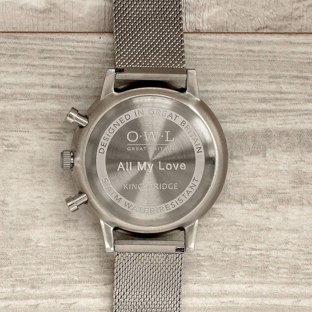 silver guess watches watch mesh image chelsea strap tone ladies
