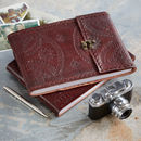 Handmade Indra Medium Leather Photo Album
