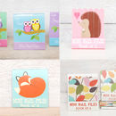 mini emery board books