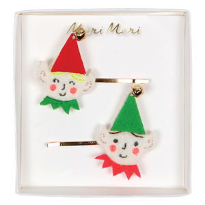 Christmas Elf Hair Pins
