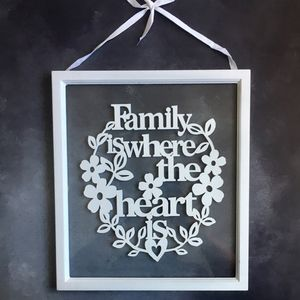 Family Sign - decorative accessories