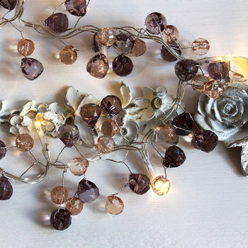 Crystal Ball Fairy Lights Mains Or Battery