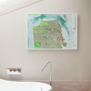 San Francisco Wall Map