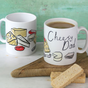 Cheesy Dad Mug - tableware