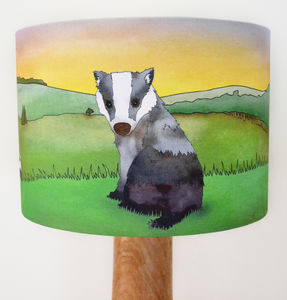 Badger Lampshade