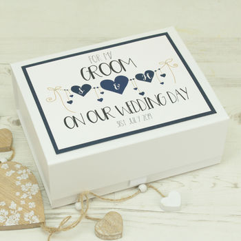 Heart String Wedding Eve Gift Box