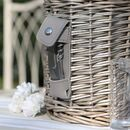 Aurielle Personalised Cooler Picnic Basket For Two