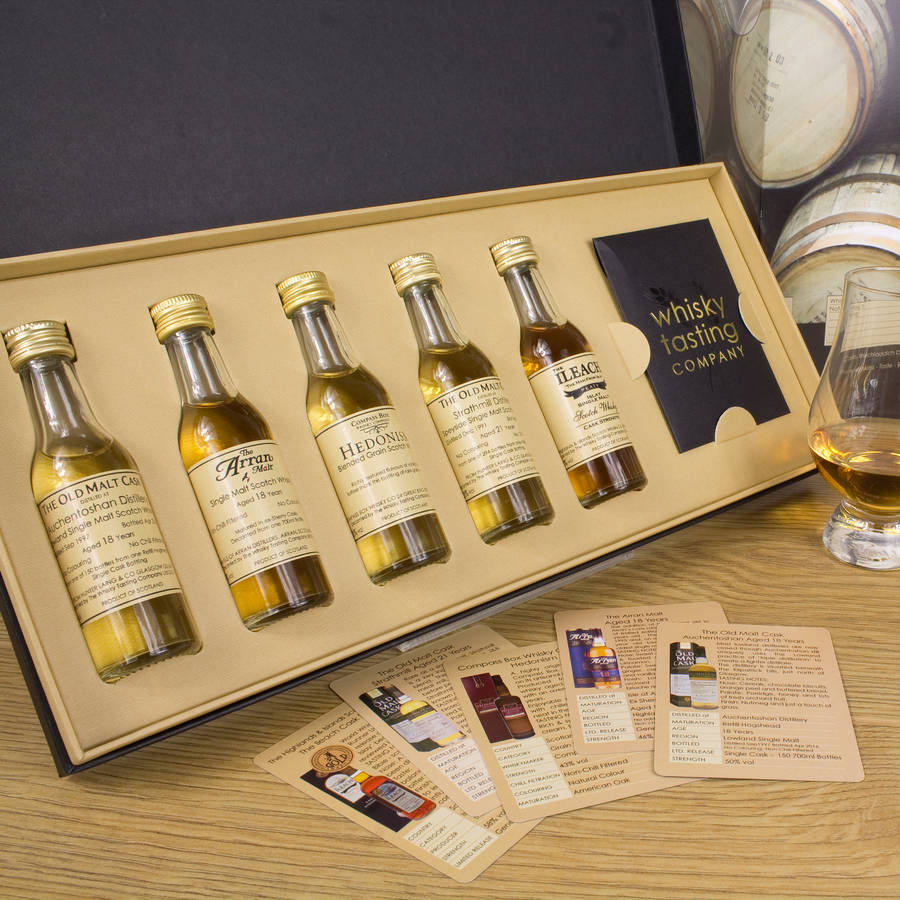 premium scotch whisky gift set by whisky tasting company. Black Bedroom Furniture Sets. Home Design Ideas