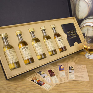Premium Scotch Whisky Gift Set - best gifts for fathers