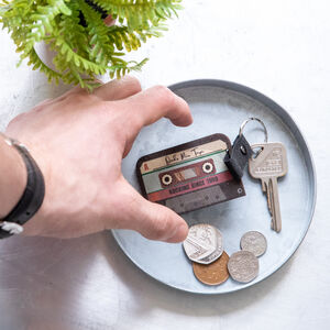 Cassette Tape Personalised Keychain