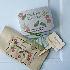 'Thank You' Gardeners' Gift Tin - storage