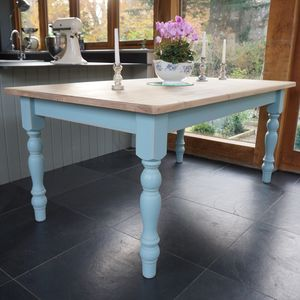 Chilmark Table Hand Painted In Any Colour - furniture