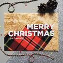 Pack Of 10 Funny Tartan Scottish Christmas Cards