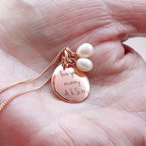 Personalised Pearl Necklace - best mother's day gifts