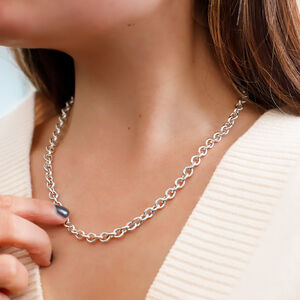 Sterling Silver Heavy Cable Chain