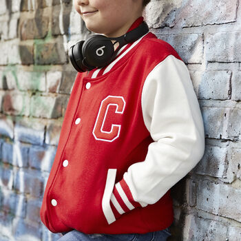 Personalised Embroidered Varsity Jacket