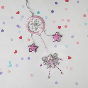 Fairy Dreamcatcher For Little Girls Bedrooms