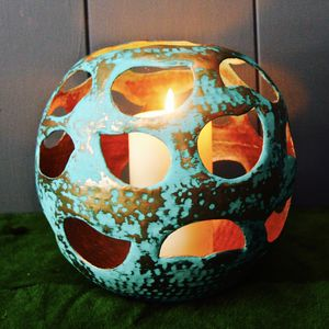 Orb Garden Lantern - outdoor lights