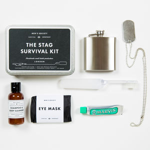 Stag Survival Kit - grooming gift sets