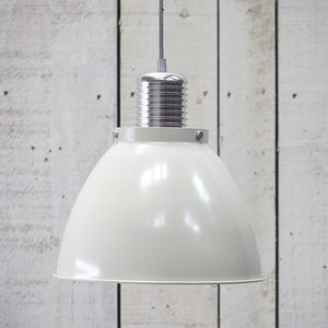 Meriden Pendant Chalk - pendant lights