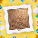 Personalised 'Cluckin' Good Easter' Chocolate Card