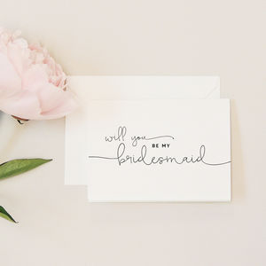 Kate 'Will You Be My Bridesmaid?' Card