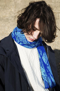 Bknit Palms Scarf - men's accessories