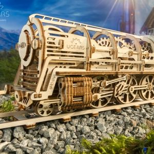 Build Your Own Moving Model Steam Locomotive By U Gears - experiences
