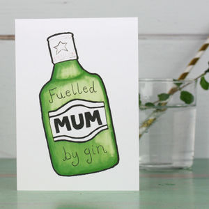 Gin Card For Mum - shop by category