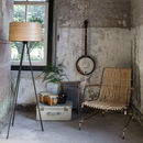 Ash Black Tripod Floor Lamp