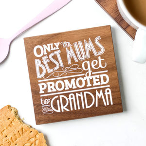 Grandma Quote Coaster Gift - placemats & coasters