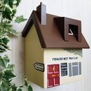 Personalised Folk Club Bird Box