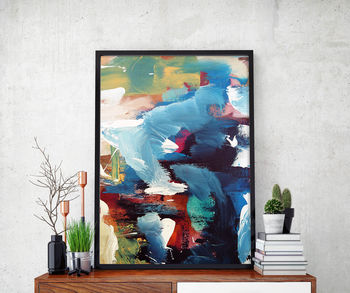 Abstract 34 Limited Edition Fine Art Print A4 Size