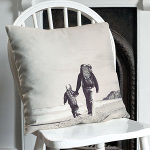 Personalised Single Or Double Sided Photo Cushion - gifts for her