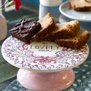'My Lovely Mum' Paint Your Own Cake Stand