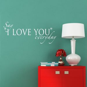 Love Quote Wall Sticker - decorative accessories