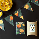 Set Of Eight Halloween Pumpkin Greetings Cards