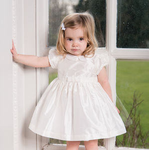 Silk Isabelle Christening Dress