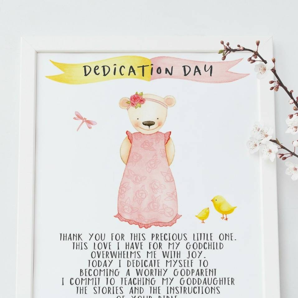 dedication day gift for a goddaughter by christening gifts from rose