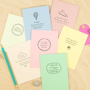 Encouragement Cards Seven Pack - shop by category