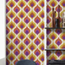 Ottoman Pattern Wallpaper