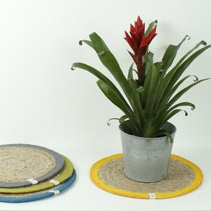 Seagrass/Jute Tablemats - placemats & coasters