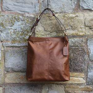 Drift Pandora Leather Slouch Handbag